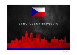 Brno Czech Republic Skyline