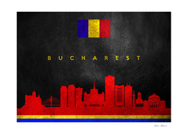Bucharest Romania Skyline