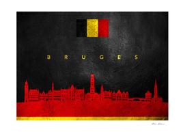 Bruges Belgium Skyline
