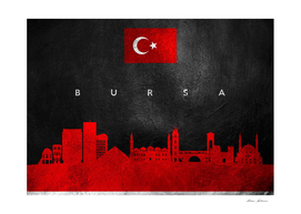 Bursa Turkey Skyline