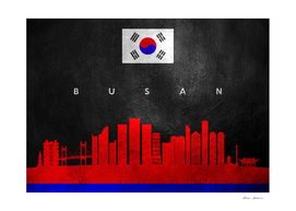 Busan South Korea Skyline