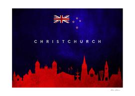 Christchurch New Zealand Skyline