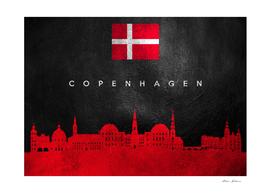 Copenhagen Denmark Skyline