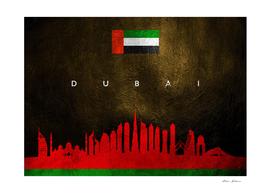 Dubai United Arab Emirates Skyline 2