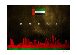 Dubai United Arab Emirates Skyline