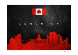 Edmonton Canada Skyline