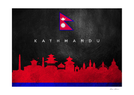 Kathmandu Nepal Skyline
