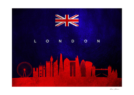 London United Kingdom Skyline 2