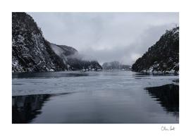 Frozen Norwegian Fjord