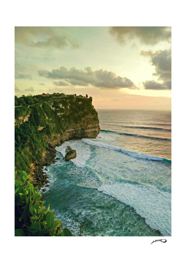 The cliff by #Bizzartino