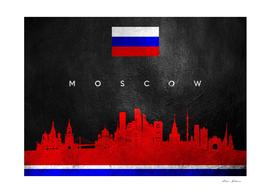 Moscow Russia Skyline