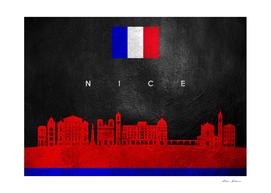 Nice France Skyline