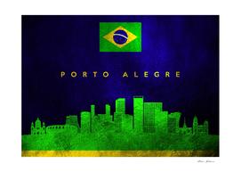 Porto Alegre Brazil Skyline