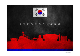 Pyeongchang South Korea Skyline