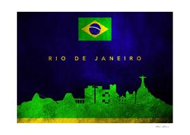 Rio De Janeiro Brazil Skyline 2