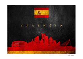 Valencia Spain Skyline
