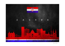 Zagreb Croatia Skyline