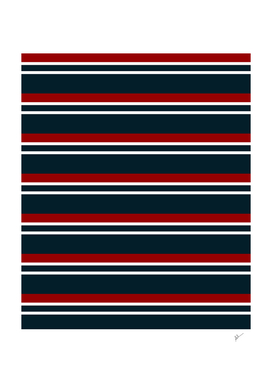 Retro Red Stripes