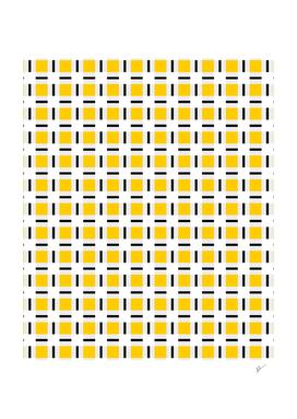 Yellow Checkered