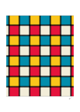 Colorful Monochrome Checks