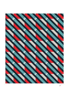 Diagonal Retro Squares