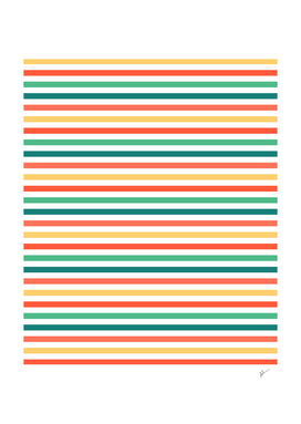 Multicolor Horizontal Stripes