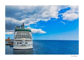 Adventure of the Seas in Curacao