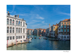 Bend in the Grand Canal