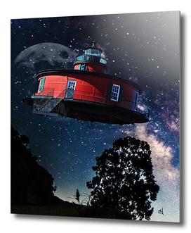Mid-Century Flying Saucer