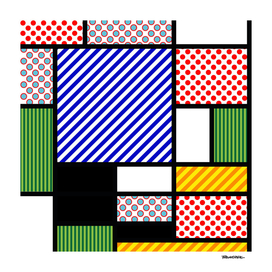 Mondrian PoP Art