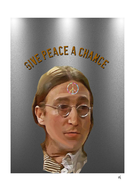 Give Peace a Chance, Portrait of John Winston Lennon