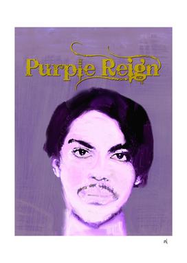 Purple Reign, Prince Portrait
