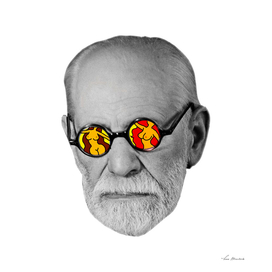 Sigmund Freud and his thinks