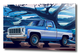 1980-Chevrolet Custom-C10-Short-Bed