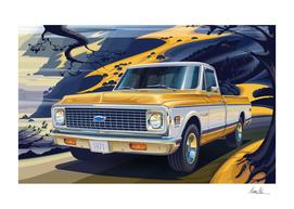 1971 Chevrolet C10 Cheyenne Fleetside 2WD Pickup