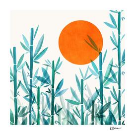 Zen Garden Sunset