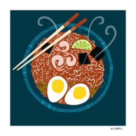 Ramen Noodles for Lunch