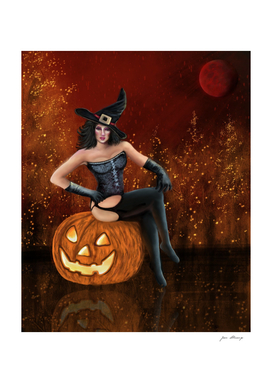 The Halloween's Witch