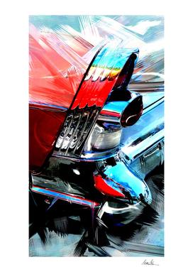 1957 Buick Century 63 Painting