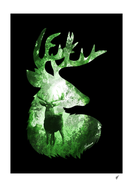 Evergreen Deer