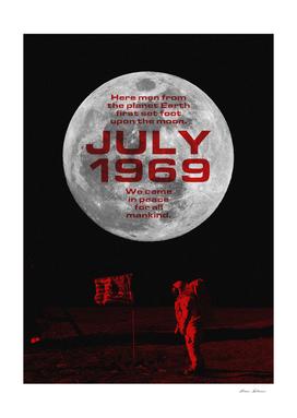 July 1969 Moon Landing Memoir