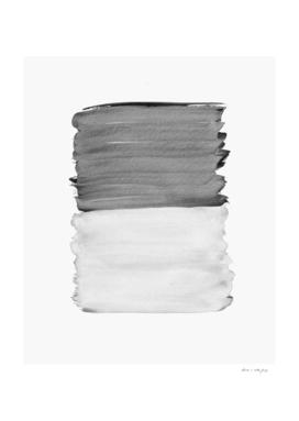 Gray Black White Abstract Minimalism #1 #minimal #ink