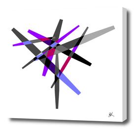 COLORFUL BARS-PURPLE-GREY