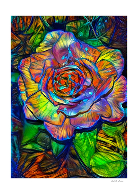 Intricate Rose