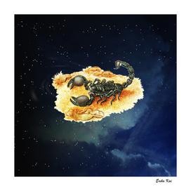Scorpio and Night Sky