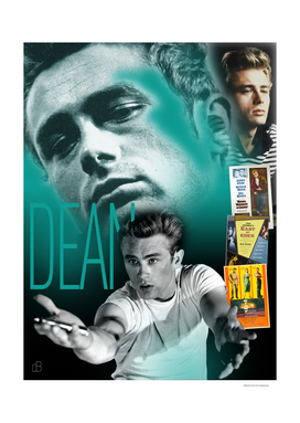 James Dean Collage Portrait