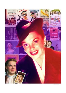 Judy Garland Collage Portrait
