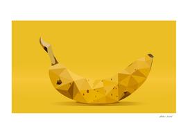 banana low poly