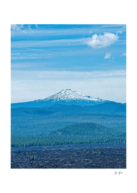 Above Tree Line // Beautiful Blue Mountain Peak