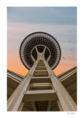 Space Needle at Dawn